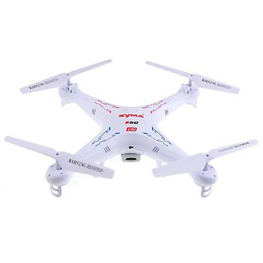 RC Dronă SYMA X5C 4CH 6 Axe 2.4G Cameră HD 2.0MP 720P Quadcopter RC Lumini LED / Zbor De 360 Grade / Planare Quadcopter RC / Telecomandă