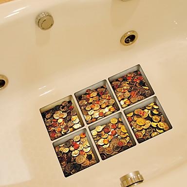 أزياء ملصقات الحائط لواصق حائط الطائرة لواصق المرحاض, الفينيل تصميم ديكور المنزل جدار مائي مرحاض