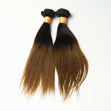 オンブル' インディアンヘア ストレート 12ヶ月 1個 ヘア織り