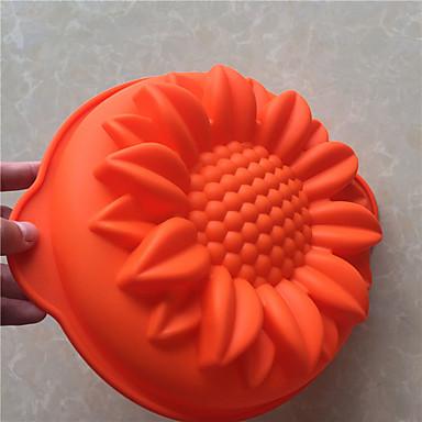 ベーキングモールド アイス チョコレート ピザ パイ Cupcake クッキー ケーキ パン Other シリコーン DIY 高品質 3D 焦げ付き防止