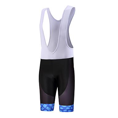 QKI® Shorts med seler til sykning Herre Pustende Fort Tørring Anatomisk design Anvendelig Svettereduserende Sykkel Sykkelshorts Med Seler