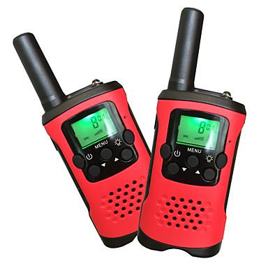 T48 Rádio de Comunicação Portátil Analógico VOX Codificação Transponder Automático Bloqueio de Teclado Lanterna Traseira LCD Explorar