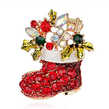 Mulheres Broches - Cruz Fashion Broche Arco-Íris Para Festa / Ocasião Especial / Aniversário
