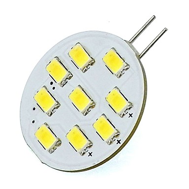 2W 400lm G4 أضواء LED Bi Pin T 9 الخرز LED SMD 5730 أبيض دافئ أبيض كول 85-265V 12V