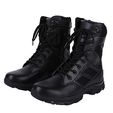 Bootsit-Platform-Miesten-Nahka-Musta-Rento-Comfort