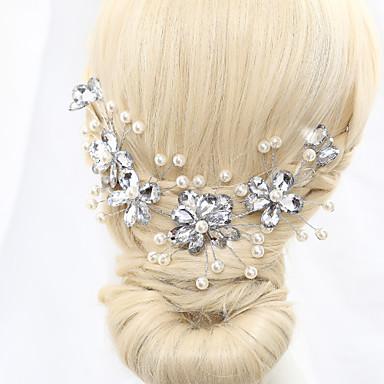 jäljitelmä helmi kukkia headpiece tyylikäs klassinen naisellinen tyyli