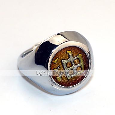 多くのアクセサリー に触発さ NARUTO -ナルト- 自来也 アニメ系 コスプレアクセサリー 指輪 合金