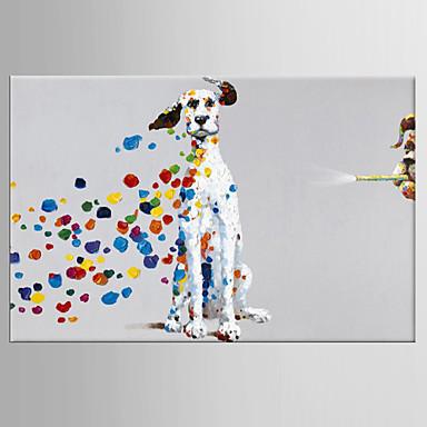 Pintura al óleo pintada a colgar Pintada a mano - Pop Art Clásico Modern Lona