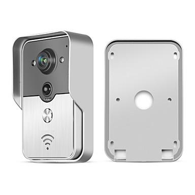 Eins zu eins-Video-Türsprechanlage Fotografiert/Aufnahme/Multifamily videotürklingel) - Kabellos