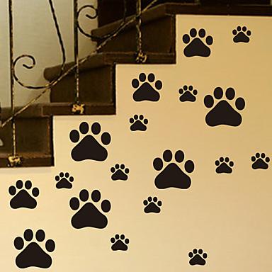 Dyr Veggklistremerker Fly vægklistermærker Dekorative Mur Klistermærker, Vinyl Hjem Dekor Veggoverføringsbilde Vegg Glass / bad