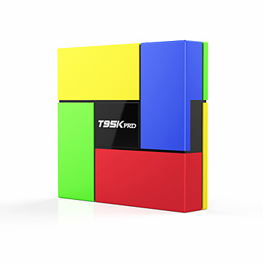 T95K Pro Tv Boks Android6.0 / Android 5.1 Tv Boks Amlogic S912 2GB RAM 16GB ROM Octa Core