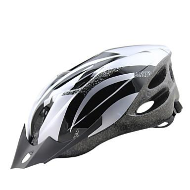 Adulto Capacete de bicicleta 18 Aberturas CE Resistente ao Impacto, Peso Leve, Ajustável EPS, PC Esportes Ciclismo de Estrada / Ciclismo de Lazer / Ciclismo / Moto - Prata / Vermelho / Azul Homens