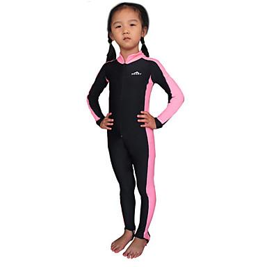 SBART Dječji Djevojčice Dječaci Ronilačko odijelo kože Ultraviolet Resistant Chinlon Dugih rukava Protiv osipa Ronilačka odijela Plivanje