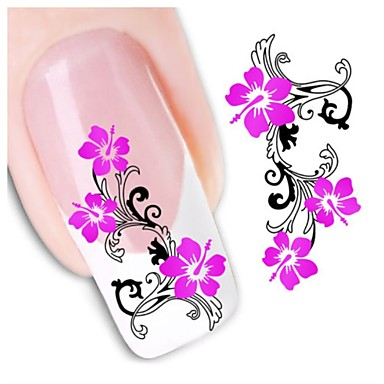 1pcs Nagel-Kunst-Aufkleber 3D Nails Nagelaufkleber Make-up kosmetische Nail Art Design