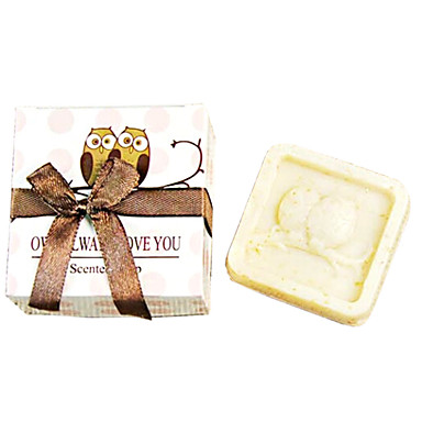 Wedding Gift Mini Night Owl Soap 36g Cosmetic Beauty Care Makeup for Face