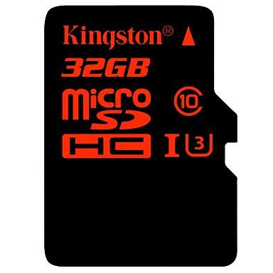 Kingston 32GB マイクロSDカードTFカード メモリカード UHS-I U3 クラス10
