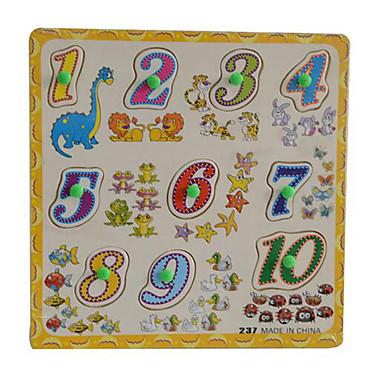 تركيب ألعاب الرياضيات ألعاب تربوية حداثة خشبي 1pcs للأطفال صبيان هدية