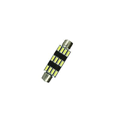 SO.K 39mm Light Bulbs SMD 3014 200 lm 12 Interior Lights
