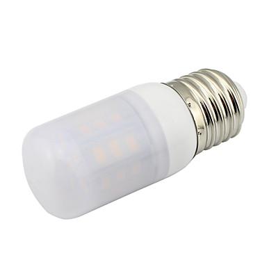 2 W 300-350 lm E26 / E27 أضواء LED ذرة T 27 الخرز LED SMD 5730 ديكور أبيض دافئ / أبيض كول 85-265 V / 12 V / قطعة / بنفايات