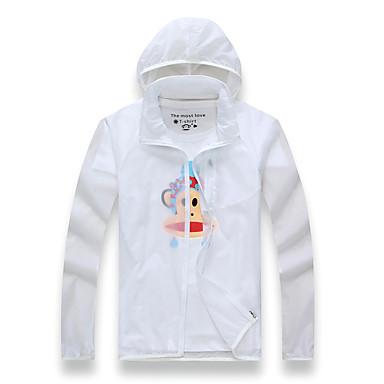 Damen Herrn Langärmelige Laufen Sweatshirt Windjacken Kleidung für den SonnenschutzWasserdicht Atmungsaktiv Rasche Trocknung
