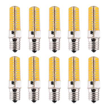E17 LEDコーン型電球 T 80 LEDの SMD 5730 調光可能 装飾用 温白色 クールホワイト 500-700lm 2800-3200/6000-6500