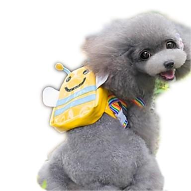 ネコ 犬 犬パック ペット用 キャリア 携帯用 キュート イエロー