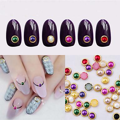 1 pcs Joyas de Uñas Perlas arte de uñas Manicura pedicura Diario Moda / Joyería de uñas