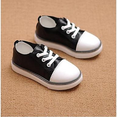 Tyttöjen kengät Canvas Comfort Lenkkitossut Käyttötarkoitus Kausaliteetti Valkoinen Musta Punainen Vihreä