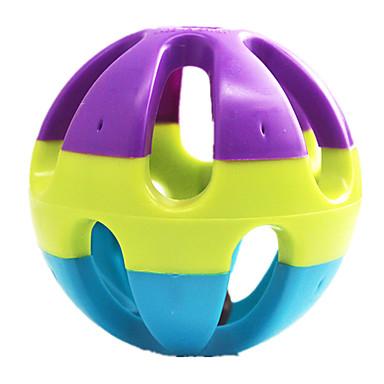Hundespielzeug Haustierspielsachen Quietsch- Spielzeuge quietschen Grün Blau Purpur Gummi