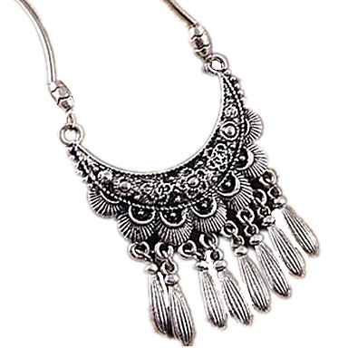 Women's Fashion Statement Necklace Alloy Statement Necklace , Party Daily Casual