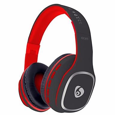 OVLENG S98 ヘッドホン(ヘッドバンド型)Forメディアプレーヤー/タブレット 携帯電話 コンピュータWithマイク付き DJ ボリュームコントロール FMラジオ ゲーム スポーツ ノイズキャンセ Hi-Fi 監視 Bluetooth