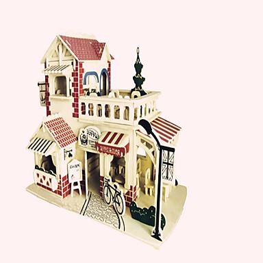 ジグソーパズル ウッドパズル ビルディングブロック DIYのおもちゃ 戦闘機 有名建造物 中国建造物 1 ウッド クリスタル プラモデル&組み立ておもちゃ