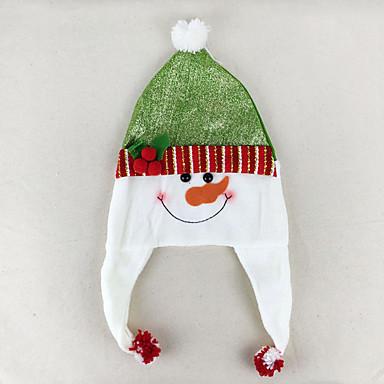 クリスマスデコレーション クリスマスパーティー用品 おもちゃ サンタスーツ Elk 雪だるま 甘い かわいい 3 小品 ギフト
