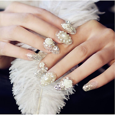 24 pcs bijoux ongles nail art design glitters mode quotidien de 5485505 2018. Black Bedroom Furniture Sets. Home Design Ideas