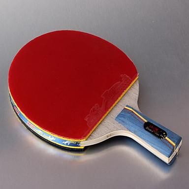 卓球ラケット Ping Pang ウッド ショートハンドル にきび 屋内-#