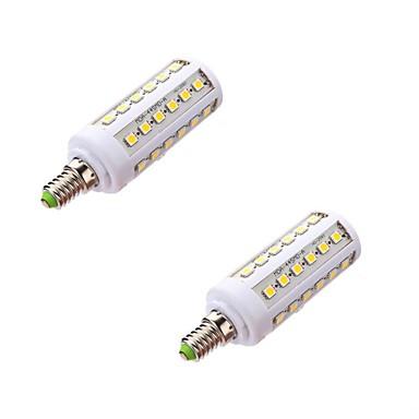 E14 LED-maissilamput T 44 LEDit SMD 5050 Lämmin valkoinen 800lm 5000-6500K AC 220-240V