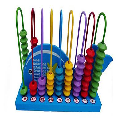 数字・計算系学習おもちゃ 知育玩具 おもちゃ アイデアジュェリー 方形 ウッド 小品 女の子 男の子 こどもの日 ギフト