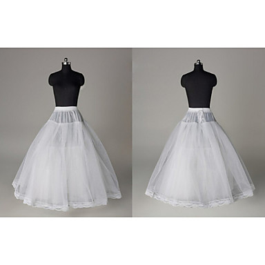 Wedding / Special Occasion Slips Tulle Tea-Length A-Line Slip with