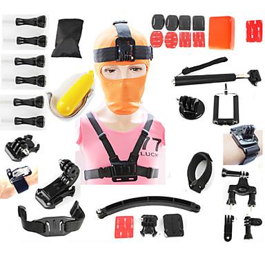 가스 스트랩 헤드 스트랩 부드러운 프레임 가방 스크루 흡입 접착제 스트랩 핸드 그립 마운트 에 대한 전체 Gopro 5 SJCAM
