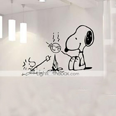 동물 사람 정물 로맨스 패션 모양 빈티지 휴일 만화 Leisure Fantasy 벽 스티커 동물의 벽 스티커 데코레이티브 월 스티커, 비닐 홈 장식 벽 데칼 벽