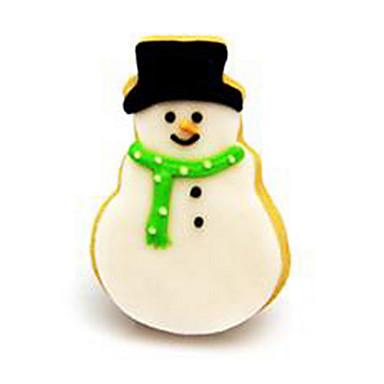 paistopinnan Cartoon muotoinen Kakku Cookie Ruostumaton teräs Ympäristöystävällinen Christmas Uusivuosi