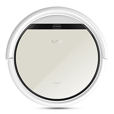 ILIFE V5 Intelligent Robotic Vacuum Cleaner Automatically Robot Aspirador Touch Screen Self-charge HEPA Filter Sensor Remote Controllor Household #05468444
