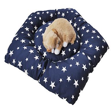 ネコ 犬 ベッド ペット用 マット/パッド カジュアル/普段着 ブルー ペット用