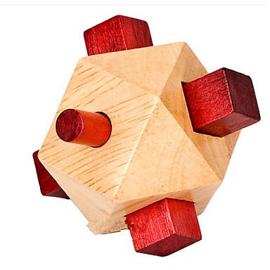 Holzpuzzle Rätselspiele Kong Ming Geduldspiel Spielzeuge Spielzeuge Intelligenztest Mädchen Jungen Stücke