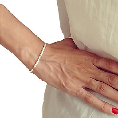 Damen Strang-Armbänder Einzigartiges Design Perlenbesetzt Handgemacht Modeschmuck Modisch Perle Schmuck Schmuck Für Party Alltag