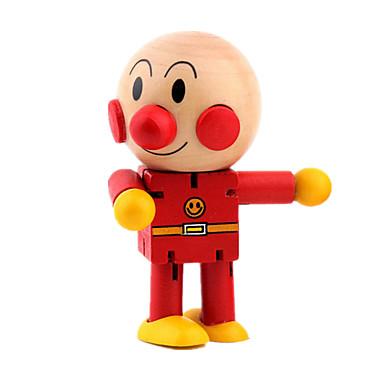 指人形 知育玩具 人形 おもちゃ アイデアジュェリー サーキュラー 戦士 ウッド カトゥーン 1 小品 女の子 男の子 ギフト