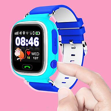 Lasten Rannekello Smart Watch Muotikello Urheilukello Automaattinen itsevetävä Kosketusnäyttö Hälytys Ajanotto Kuumemitari Askelmittarit