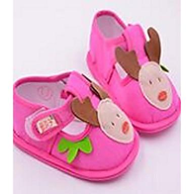 キッズ 赤ちゃん 靴 繊維 赤ちゃん用靴 フラット 用途 カジュアル イエロー フクシャ ピンク