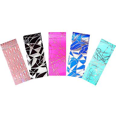 5pcs Nagel-Kunst-Aufkleber Folie Stripping Band Make-up kosmetische Nagelkunst Design