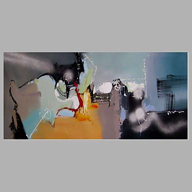 käsin maalattu abstrakti moderni, yksi paneeli kangas öljymaalaus sisustusta